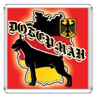 Доберман Флаг