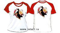 Бернский зенненхунд Ангел-Сердце (красные рукава, унисекс)