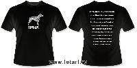 Родезийский Риджбек Черная футболка Ответы Любопытным (унисекс)