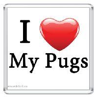 I Love My Pugs